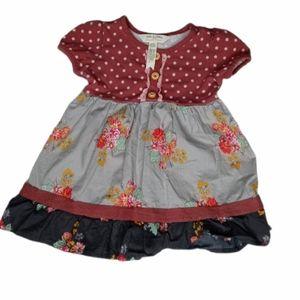 Matilda Jane little girls size 6-12months dress